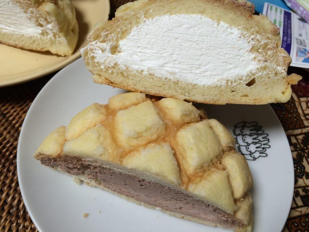 糸島 カシェット (cachette) 生クリームたっぷり メロンパン