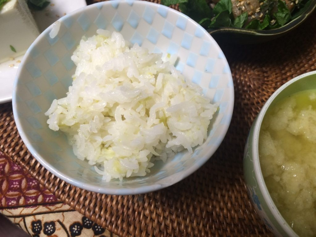 お米食べちゃう糖質制限 キャベツ白滝ご飯ダイエット