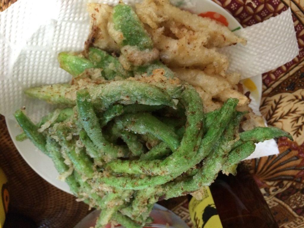 お米食べちゃう糖質制限 天ぷら