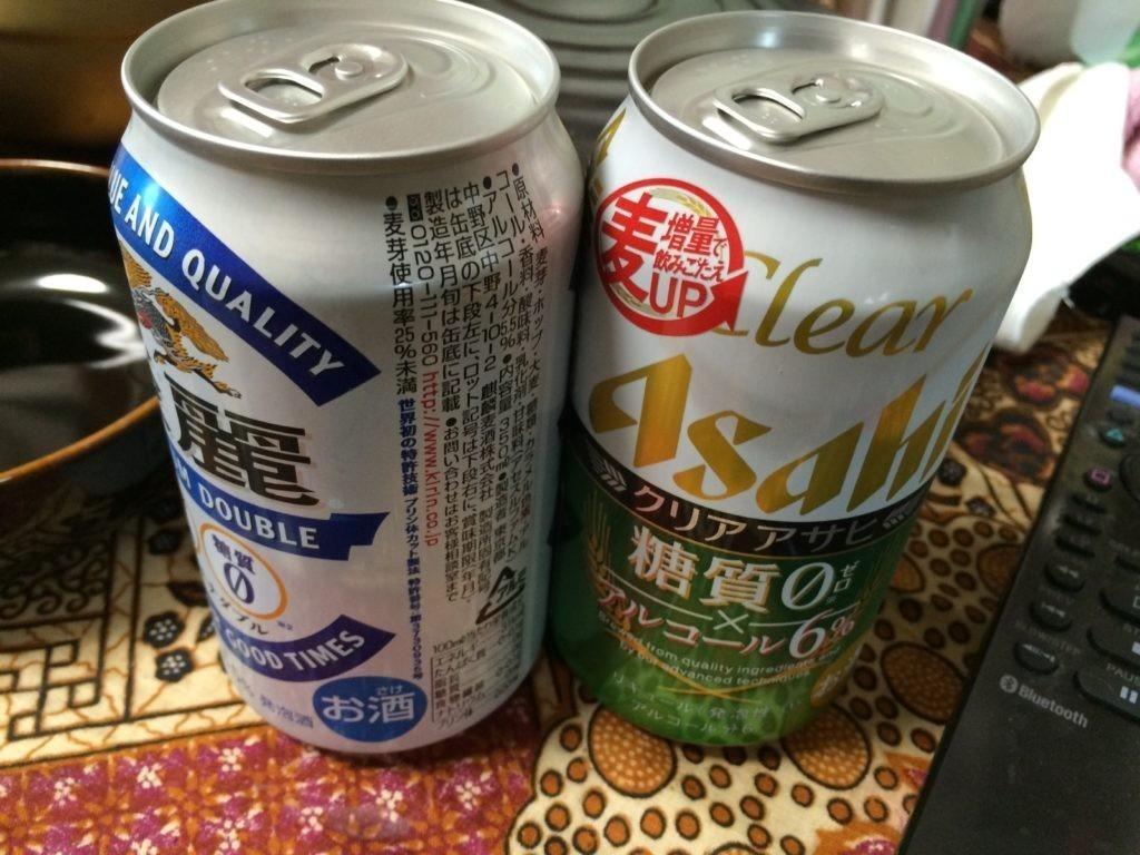 糖質制限やってみた ビールダイエット 発泡酒
