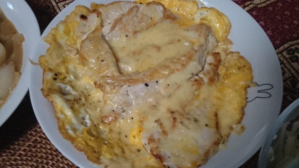 お米食べちゃう糖質制限ダイエットやってみた 鳥胸肉のチーズピカタ