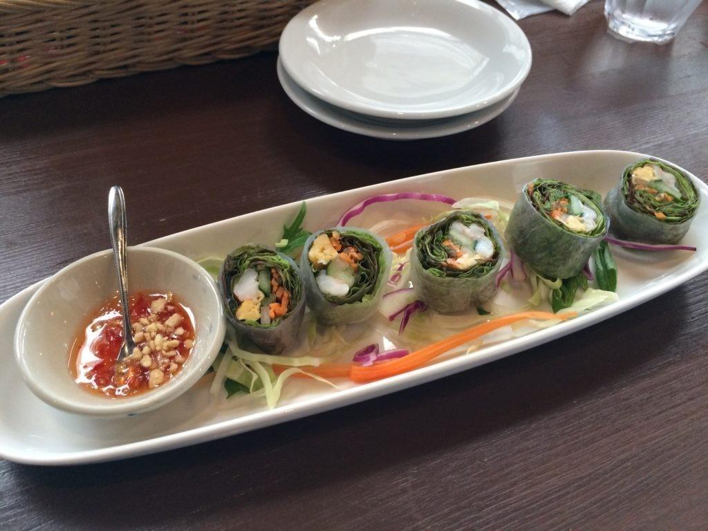 糸島 タイ料理 ドゥワンチャン 生春巻き