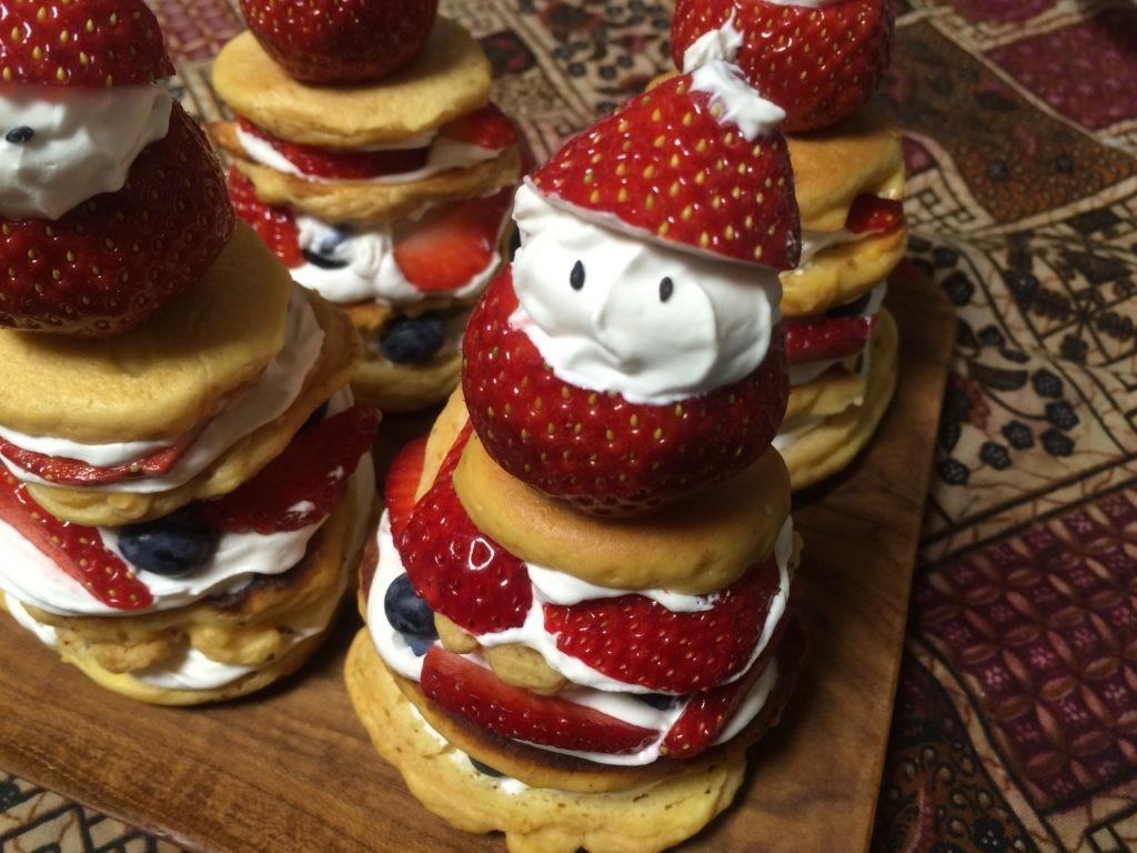 糖質制限ケーキ サンタ