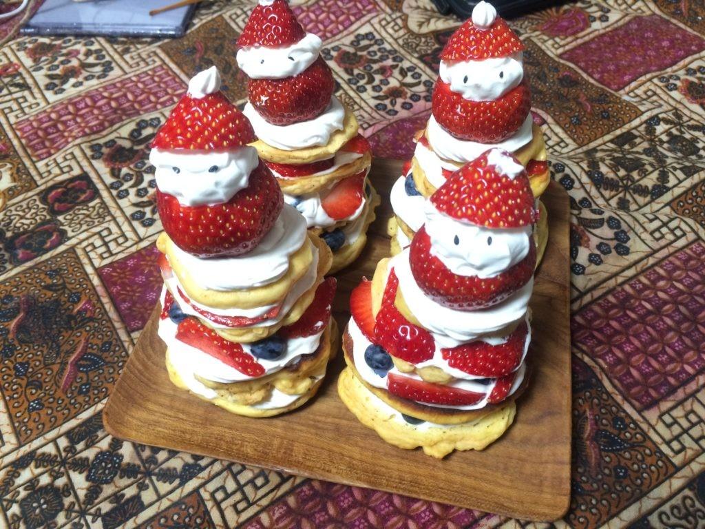 サンタ 糖質制限対応ケーキ