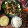 14日目 鳥つくね焼き 牛すじコンニャク お味噌汁 お米食べちゃう糖質制限ダイエ