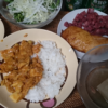 25日目ココナッツオイルタイ米 挽肉トマトカレー 糖質制限でも米を食べるダイエッ